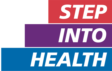 Step into Health logo PNG